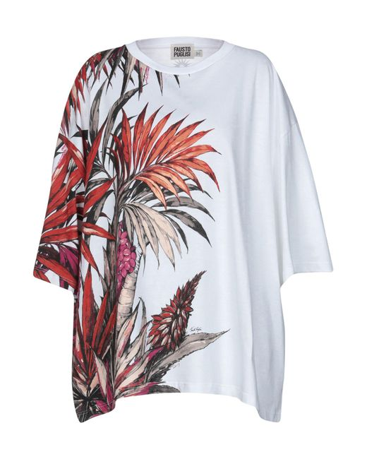 Fausto Puglisi - White T-shirts - Lyst