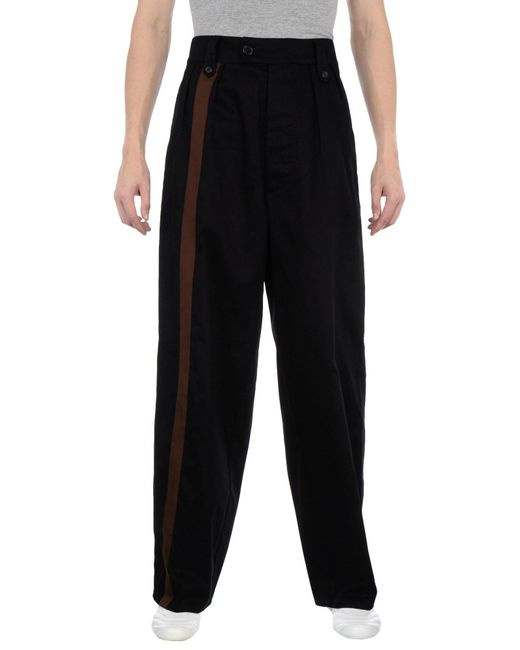 Raf Simons Black Casual Pants for men