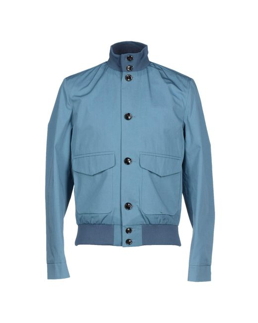 Hardy Amies - Blue Jacket for Men - Lyst