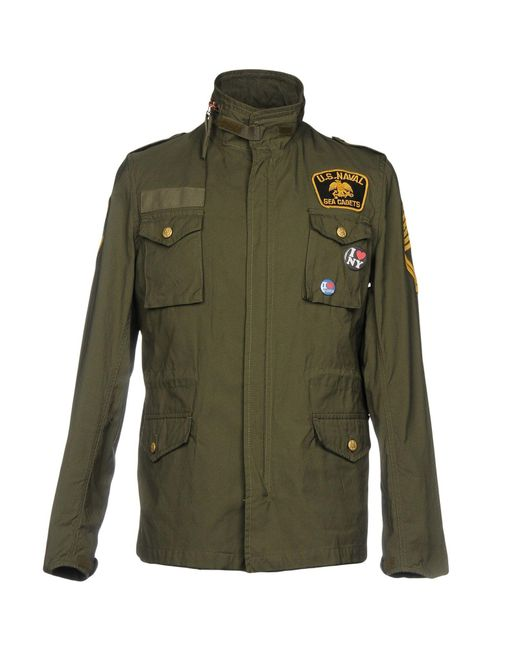 History Repeats - Green Jacket for Men - Lyst
