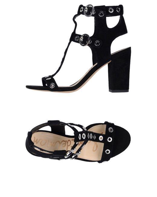 Sam Edelman - Black Sandals - Lyst