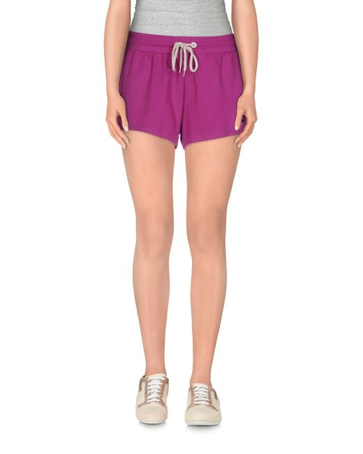 PUMA - Purple Shorts - Lyst
