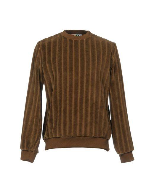 MSGM - Brown Sweatshirts for Men - Lyst