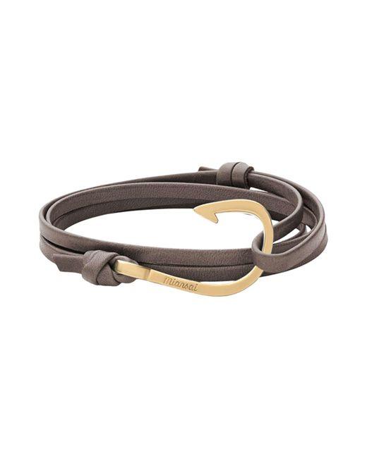 Miansai | Gray Bracelet | Lyst