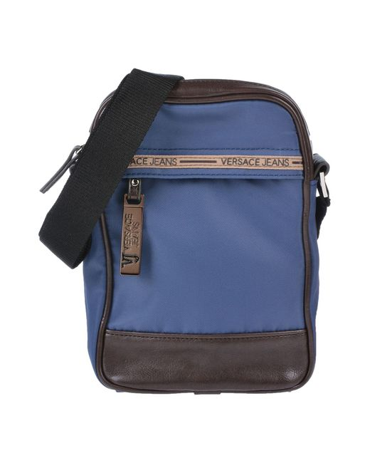 Versace Jeans - Blue Cross-body Bag for Men - Lyst ... e706839c0627e