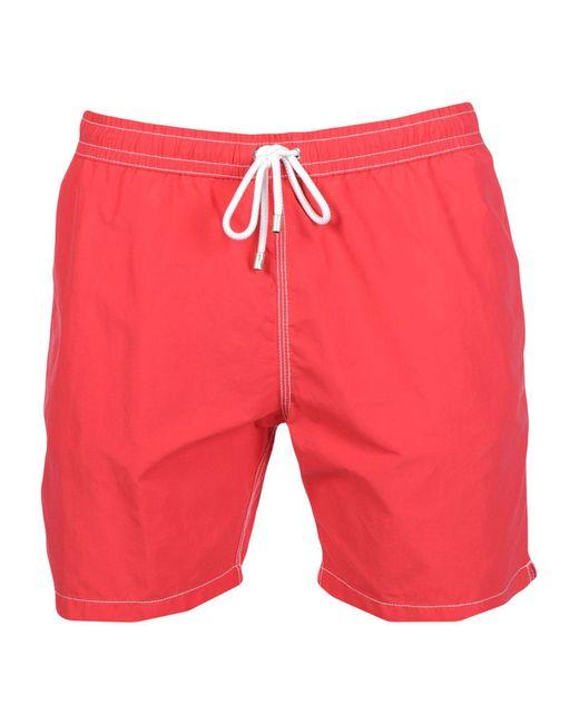 Hartford - Red Swim Trunks for Men - Lyst