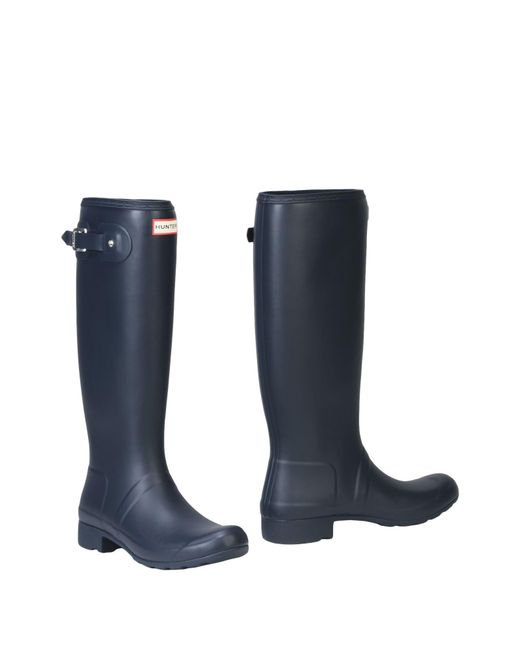 Hunter Boots in Blue | Lyst