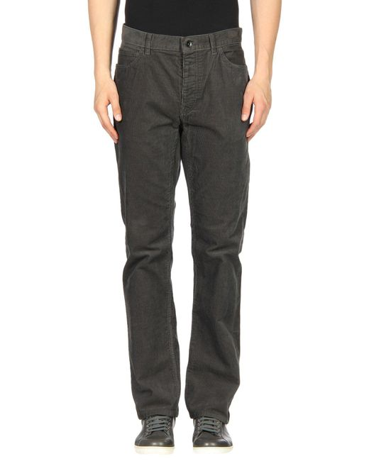 Club Monaco - Gray Casual Pants for Men - Lyst