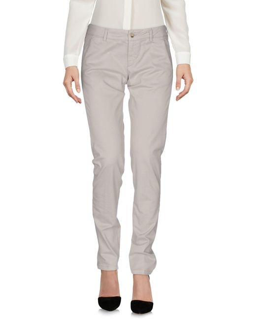 Allegri | White Casual Trouser | Lyst