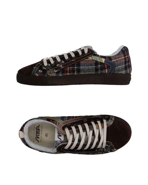 Springa | Brown Low-tops & Sneakers for Men | Lyst