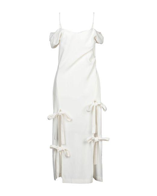 Rejina Pyo White 3/4 Length Dress