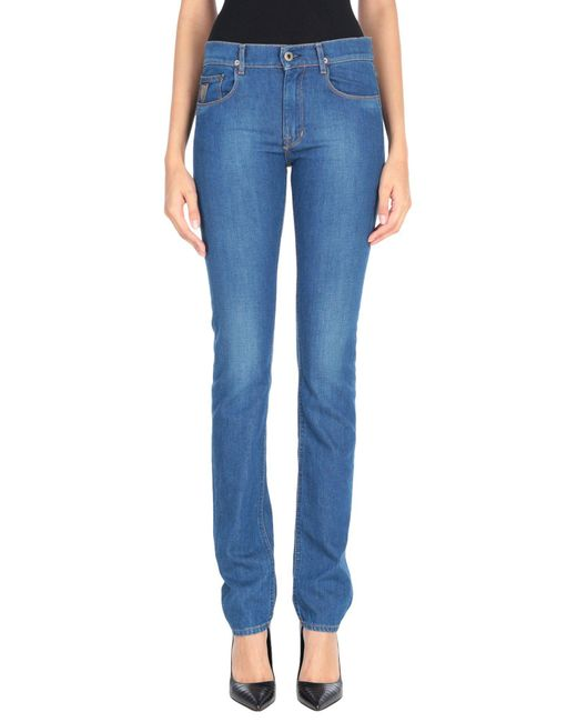 April77 - Blue Denim Trousers - Lyst