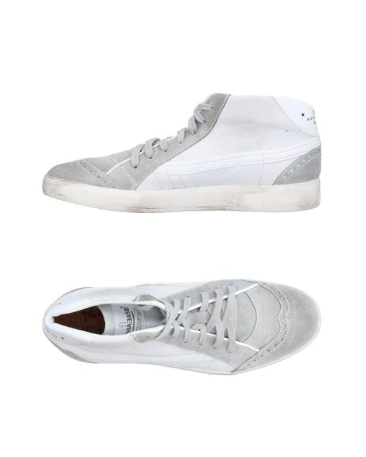 Primabase | Gray High-tops & Sneakers for Men | Lyst