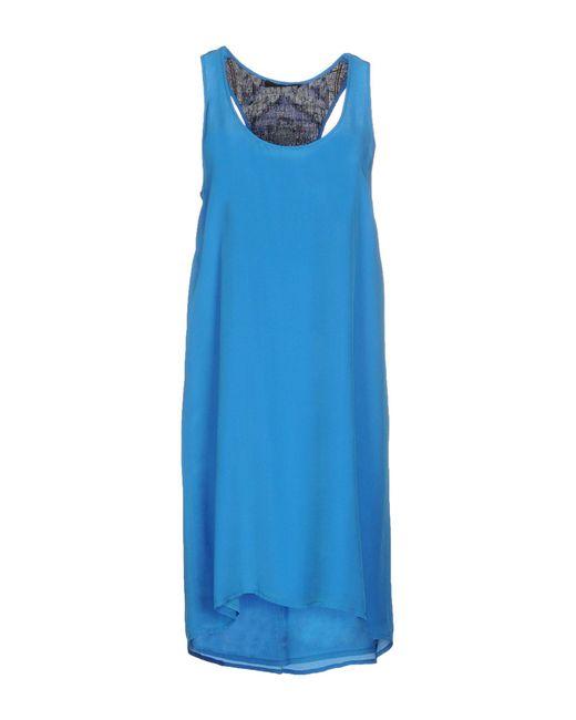 Jo No Fui - Blue Short Dresses - Lyst