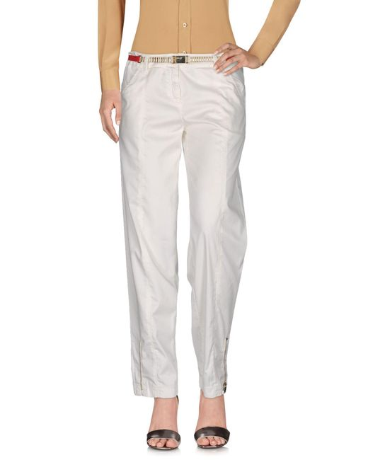 Who*s Who - White Casual Trouser - Lyst