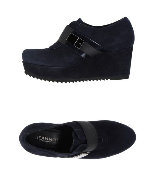 Jeannot - Blue Loafer - Lyst