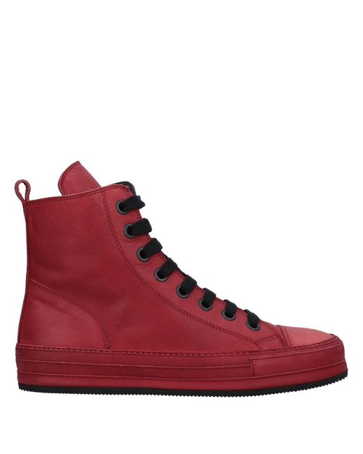 Ann Demeulemeester - Red High-tops & Sneakers - Lyst