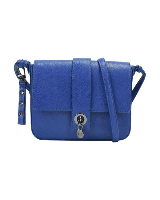 Armani Exchange - Blue Cross-body Bag - Lyst