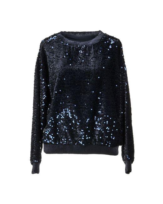 Armani - Blue Sweatshirt - Lyst