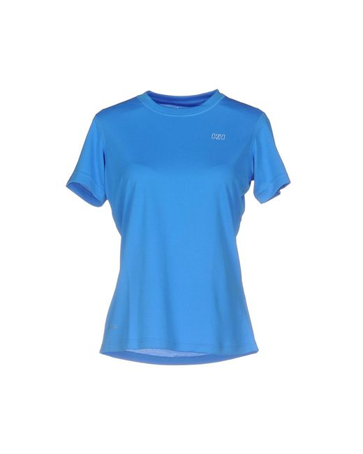 Helly Hansen - Blue T-shirts - Lyst