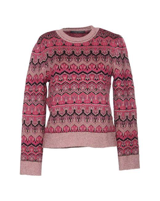 Alberta Ferretti - Multicolor Sweaters - Lyst