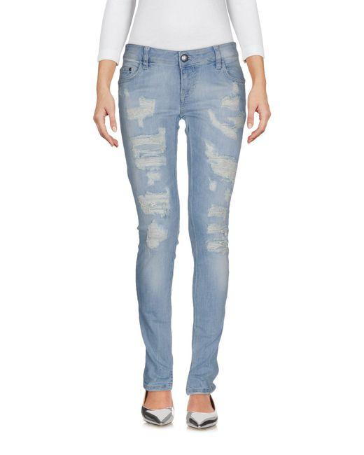 Carolina Wyser | Blue Denim Pants | Lyst