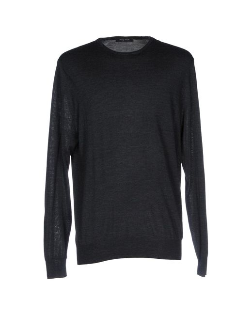 Henry Smith - Gray Sweaters for Men - Lyst