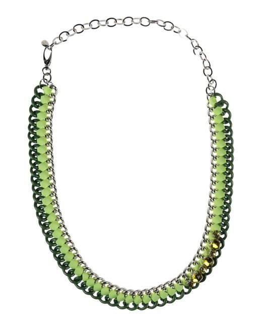 P.A.R.O.S.H. - Green Necklace - Lyst