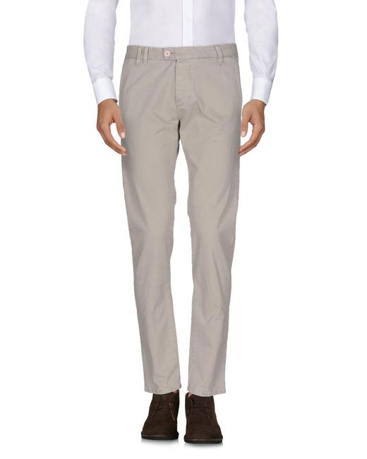 Officina 36 Natural Casual Pants for men