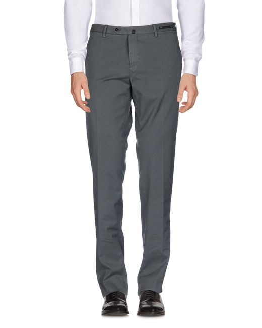 PT01 - Gray Casual Pants for Men - Lyst