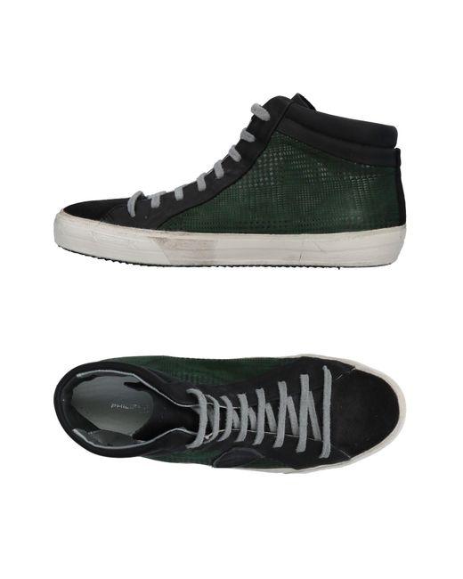 Philippe Model - Black High-tops & Sneakers - Lyst