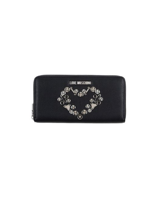 Love Moschino - Black Wallets - Lyst