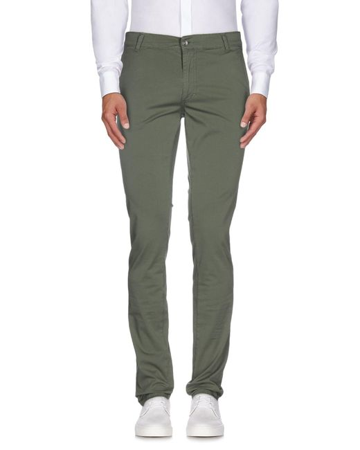 X-cape - Green Casual Pants for Men - Lyst