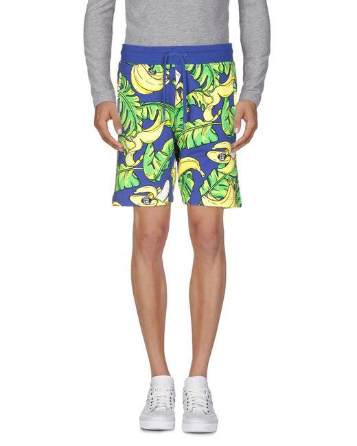 e99b9a0081ad0 ... Love Moschino - Blue Bermuda Shorts for Men - Lyst
