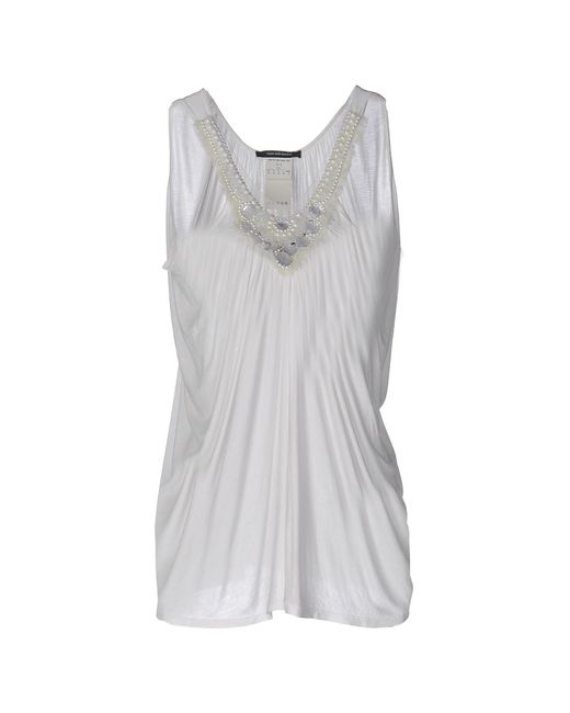 Plein Sud - White Top - Lyst