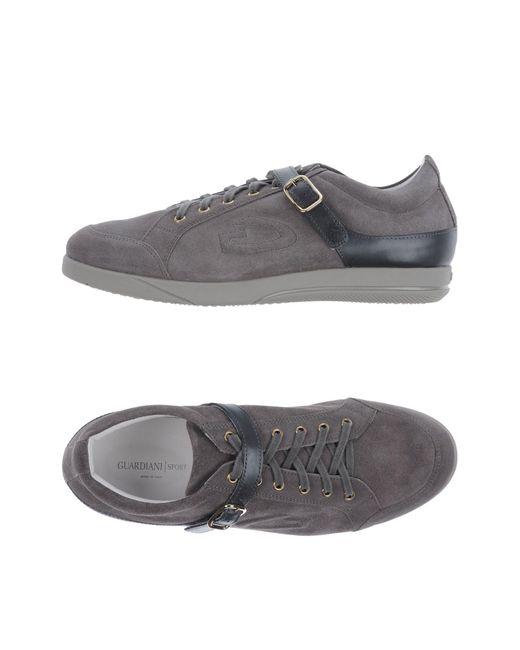 Alberto Guardiani Gray Low-tops & Sneakers for men