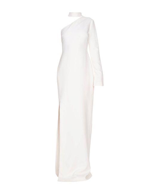 Cinq À Sept - White Long Dress - Lyst