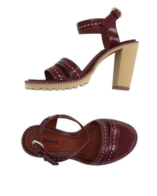 Missoni | Multicolor Sandals | Lyst