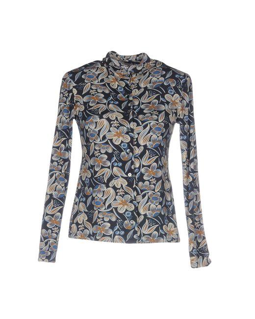 Siyu - Blue Shirt - Lyst