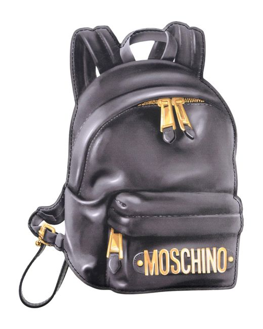 Moschino - Gray Pouch - Lyst