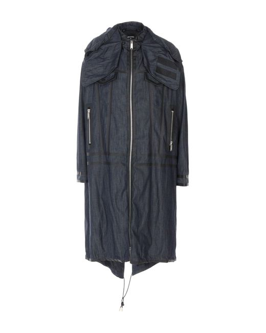 DSquared² - Blue Denim Outerwear for Men - Lyst
