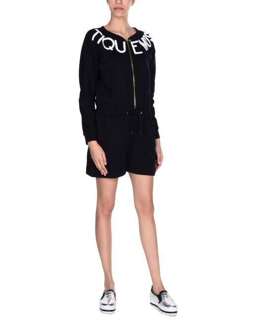 Boutique Moschino - Black Jumpsuit - Lyst