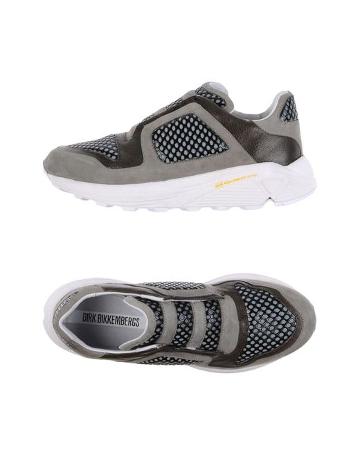 Dirk Bikkembergs | Gray Low-tops & Sneakers | Lyst