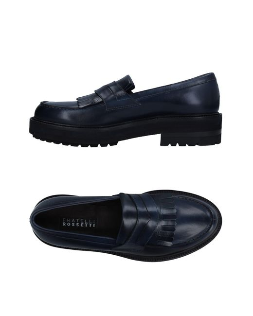 Fratelli Rossetti - Blue Loafers for Men - Lyst