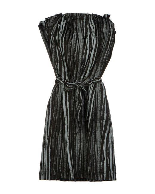 Vivienne Westwood Anglomania - Black Short Dress - Lyst