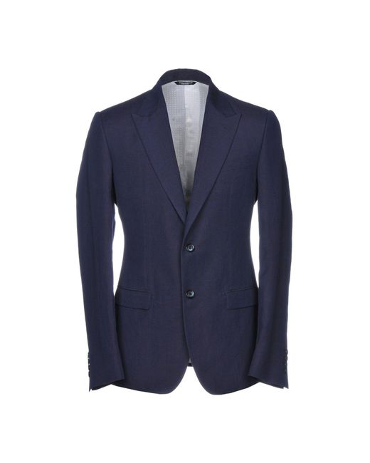 Dolce & Gabbana - Blue Blazer for Men - Lyst