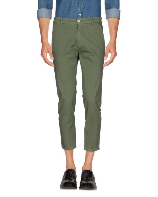 26.7 Twentysixseven - Green Casual Trouser for Men - Lyst