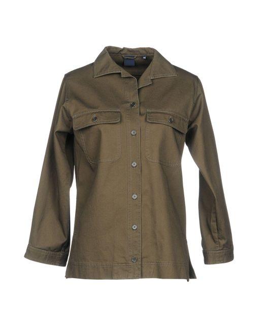 Aspesi - Green Shirt - Lyst