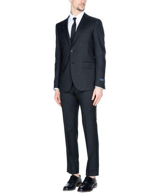 Tombolini - Black Suit for Men - Lyst