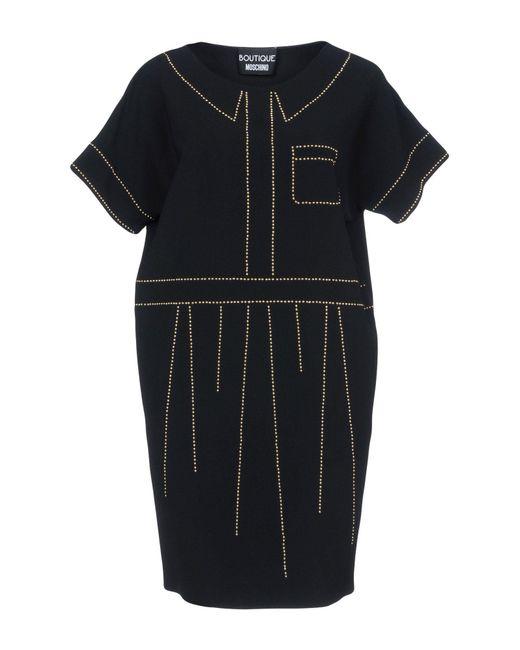 Boutique Moschino - Black Short Dresses - Lyst
